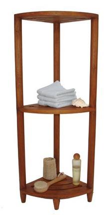 Teak Corner Stand