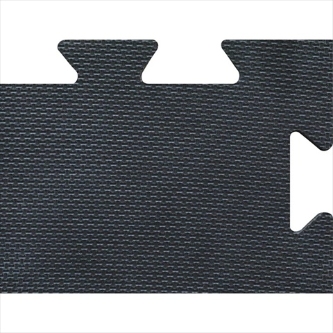 TekSupply 108720 Dyno Heavy-Duty Interlocking EVA Mat - Black