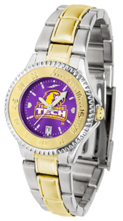 Tennessee Tech Golden Eagles Competitor AnoChrome Ladies Watch with Two-Tone Band