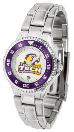 Tennessee Tech Golden Eagles Competitor Ladies Watch with Steel Band