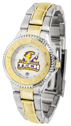 Tennessee Tech Golden Eagles Competitor Ladies Watch with Two-Tone Band