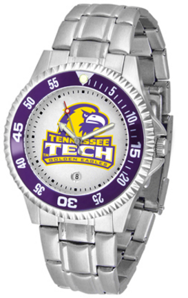 Tennessee Tech Golden Eagles Competitor Watch with a Metal Band