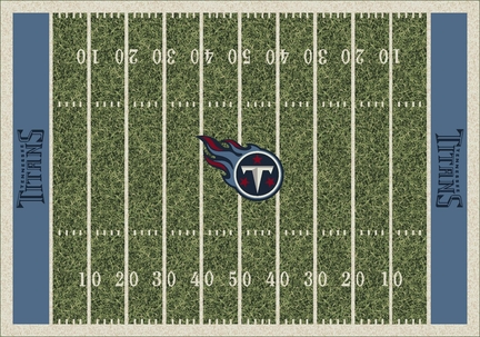 "Tennessee Titans 3' 10"" x 5' 4"" Home Field Area Rug"