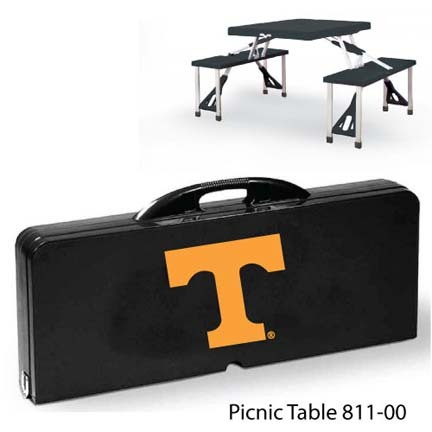 Tennessee Volunteers Portable Folding Table and Seats