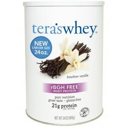 Teras Whey 24 Ounce Bourbon Vanilla Protein