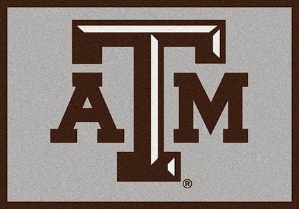 """Texas A & M Aggies 3'10""""x 5'4"""" Team Spirit Area Rug"""