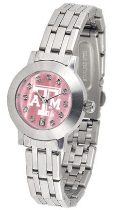 Texas A & M Aggies Dynasty Ladies Watch with Mother of Pearl Dial