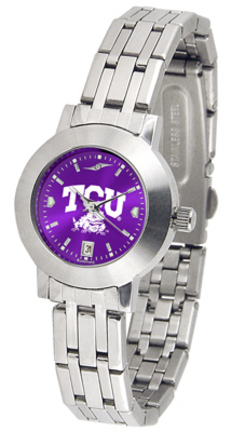 Texas Christian Horned Frogs Dynasty AnoChrome Ladies Watch