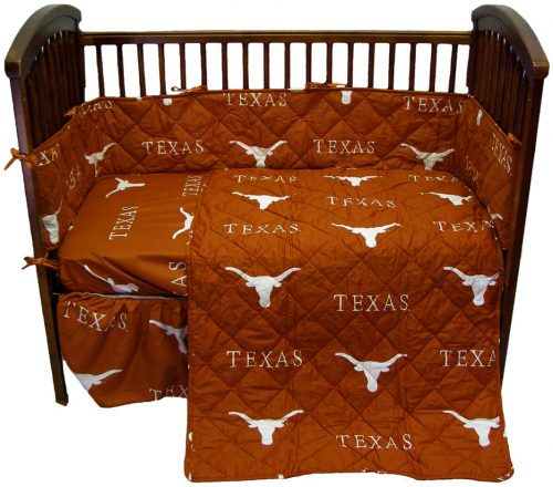 Texas Longhorns Baby Crib Set
