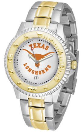 Texas Longhorns Competitor Two Tone Watch