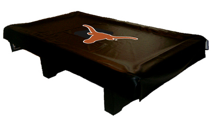 Texas Longhorns MVP Universal Fit Billiard Table Cover