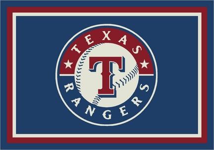 "Texas Rangers 3'10"" x 5'4"" Team Spirit Area Rug"