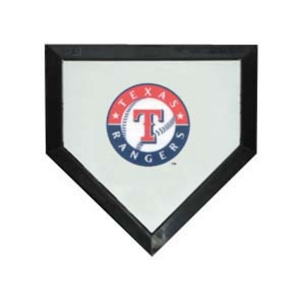 Texas Rangers Licensed Authentic Pro Home Plate from Schutt