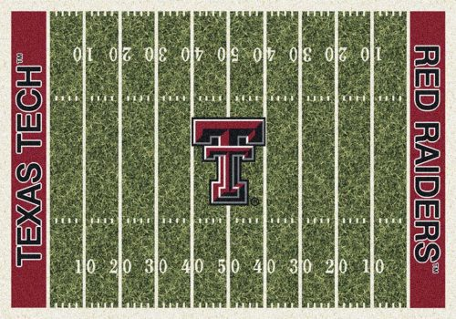 "Texas Tech Red Raiders 3' 10"" x 5' 4"" Home Field Area Rug"