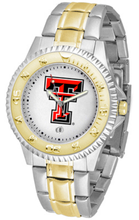 Texas Tech Red Raiders Competitor Two Tone Watch