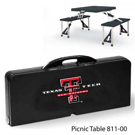 Texas Tech Red Raiders Portable Folding Table and Seats
