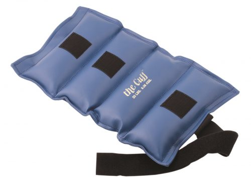 The Cuff 10-2518 20 lbs Deluxe Ankle & Wrist Weight Blue
