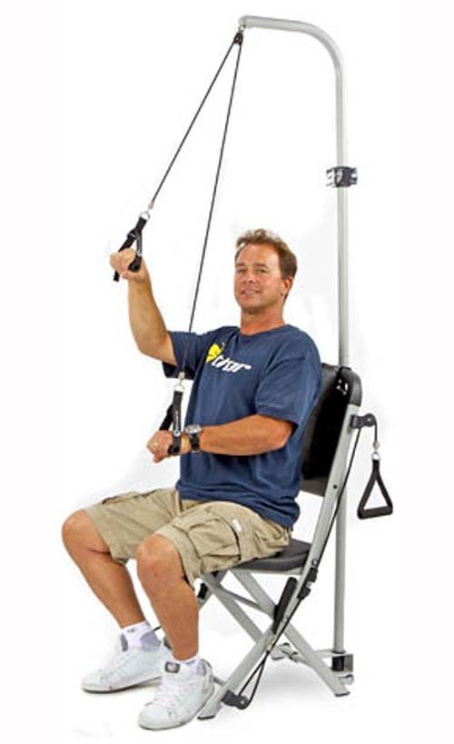 The Freedom Flex™ Shoulder Stretcher (Accessory for The Resistance Chair)