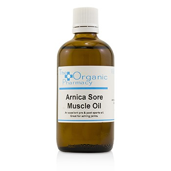 The Organic Pharmacy 221219 100 ml Arnica Sore Muscle Oil