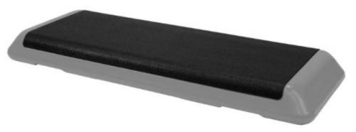 The Step F1106W Original Health Club 1 Step Grey Platform