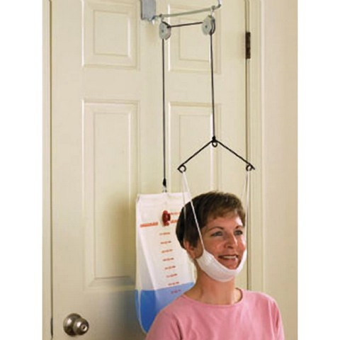 Therapeutic Dimensions THDSEATEDCTRAX Over-Door Cervical Traction