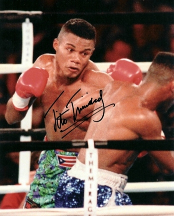 "Tito Trinidad Autographed Boxing 8"" x 10"" Photograph (Unframed)"