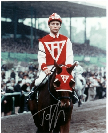 "Tobey Maguire Autographed ""Seabiscuit"" 8"" x 10"" Photograph (Unframed)"