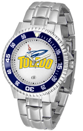 Toledo Rockets Competitor Men's Watch with Steel Band