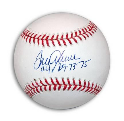 """Tom Seaver Autographed MLB Baseball Inscribed """"CY 69, 73, 75"""