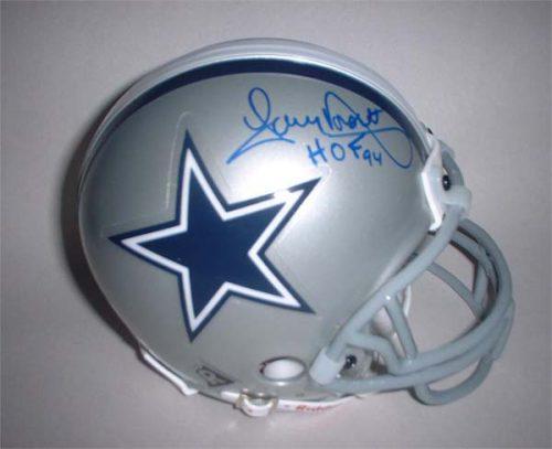 "Tony Dorsett Autographed Dallas Cowboys Riddell Mini Helmet with ""HOF 94"" Inscription"