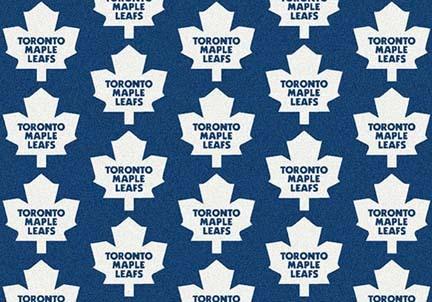 "Toronto Maple Leafs 2' 1"" x 7' 8"" Team Repeat Area Rug Runner"