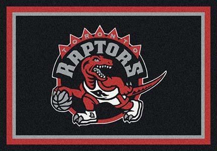 "Toronto Raptors 3' 10"" x 5' 4"" Team Spirit Area Rug"