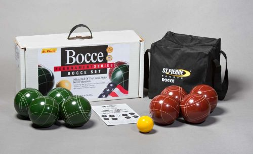 Tournament Series Bocce Set with Nylon Bag from St Pierre