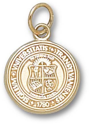 "Transylvania Pioneers ""Seal"" 1/2"" Charm - 10KT Gold Jewelry"
