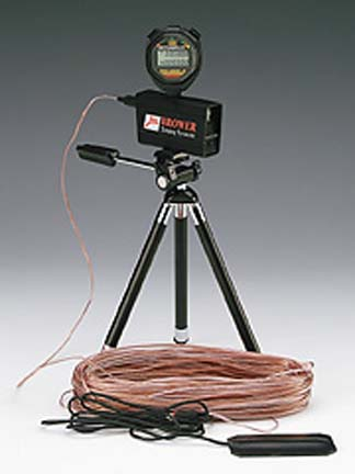 Tripod for the Speed Trap I Timing System
