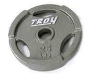 Troy Barbell GO-025 Inter-locking Olympic Grip Plate - 25 Pounds