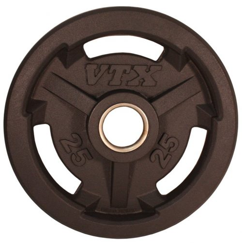 Troy Barbell GO-025VR VTX Rubber Grip Plate - 25 Pounds