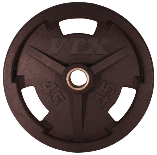 Troy Barbell GO-045VR VTX Rubber Grip Plate - 45 Pounds
