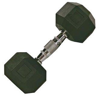 Troy Barbell SD-020R VTX 8-Sided Rubber Encased Dumbbell - 20 Pounds