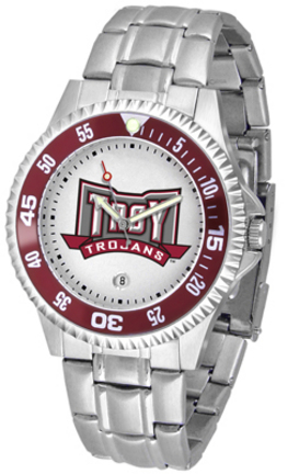 Troy State Trojans Competitor Men's Watch with Steel Band
