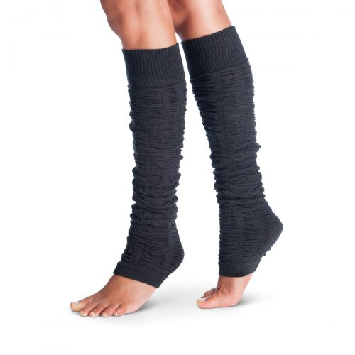 Tucketts SQ5368756 Leg Warmers Ruched Carbon