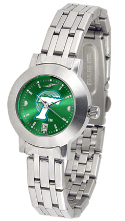 Tulane Green Wave Dynasty AnoChrome Ladies Watch