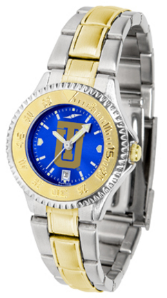 Tulsa Golden Hurricane Competitor AnoChrome Ladies Watch with Two-Tone Band