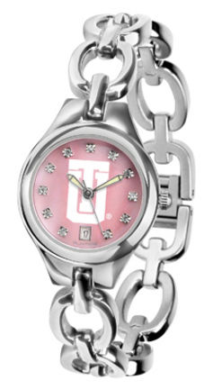 Tulsa Golden Hurricane Eclipse Ladies Watch with Mother of Pearl Dial
