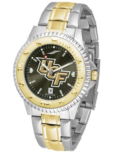 UCF (Central Florida) Knights Competitor AnoChrome Two Tone Watch