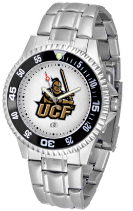 UCF (Central Florida) Knights Competitor Watch with a Metal Band
