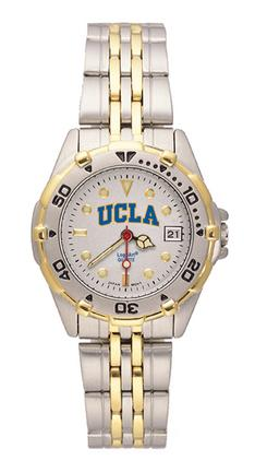UCLA Bruins NCAA Women's All Star Watch with Stainless Steel Bracelet