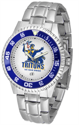 UCSD Tritons Competitor Men's Watch with Steel Band