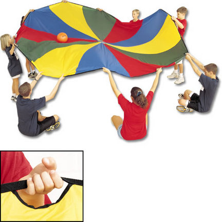 US Games 20' Parachute with 16 Handles