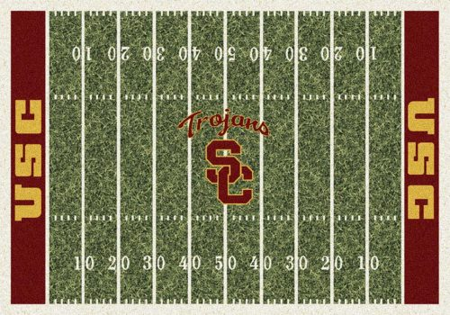 "USC Trojans 3' 10"" x 5' 4"" Home Field Area Rug"